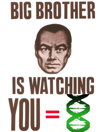 big brother is watching you posters DNA