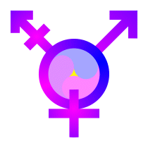 Another Yin Yang Yuan TransGender Symbol